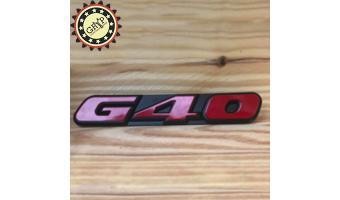 Volkswagen Polo G40 - Logo...