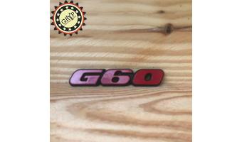 Logo de malle arrière G60