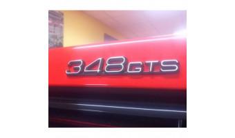 Monogramme de coffre 348 GTS