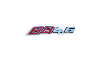 Logo de coffre B8 4,6L
